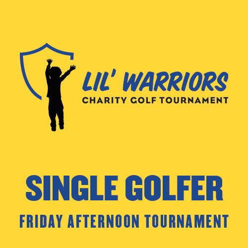 Single Golfer - LIL' WARRIORS - Battle of the Rivals Golf Tournament