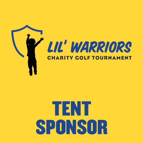 Tent Sponsor - LIL' WARRIORS - Battle of the Rivals Golf Tournament